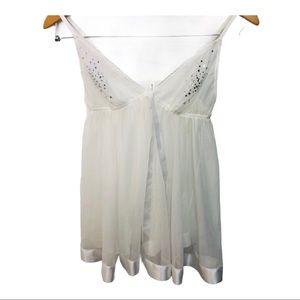 NWOT Victoria's Secret babydoll nightie panty set